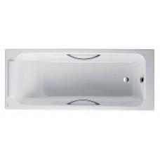 Чугунная ванна Jacob Delafon Parallel 150x70 с ручками, E2949-00