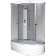 Душевая кабина ODA 8406 L матовое стекло (120x80x215)