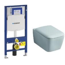 Комплект Geberit Duofix UP320 подвесной унитаз + инсталляция + сиденье, 111.300.00.5