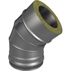 Отвод термо 45° Ø200/260, 0.5, оцинкованная