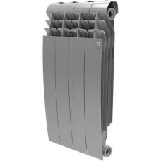 Радиатор биметаллический Royal Thermo BiLiner 500/87 1 секция, серебряный