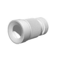 Удлинитель гибкий для унитаза выпуск 110 мм гофрированный, 828