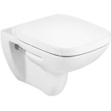 Унитаз подвесной Roca Debba 34699L, безободковый, сиденье дюропласт 8019D0004